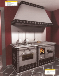 cuisini re bois rizzoli. Black Bedroom Furniture Sets. Home Design Ideas